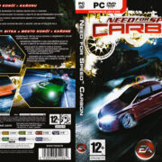 Need for Speed: Carbon (2006) CZ/SK PC DVD Cover & Label