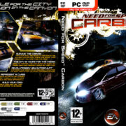 Need for Speed: Carbon (2006) EU PC DVD Cover & Label