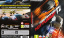 Need for Speed: Hot Pursuit (2006) CZ PC DVD Cover & Label