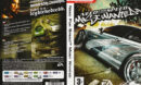 Need for Speed: Most Wanted (2005) CZ PC DVD Cover & Label