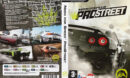 Need for Speed: ProStreet (2007) CZ PC DVD Cover & Label