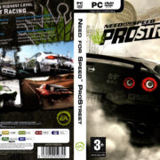 Need for Speed: ProStreet (2007) EU PC DVD Cover & Label