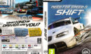 Need for Speed: Shift (2009) EU PC DVD Cover & Label