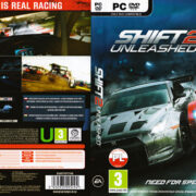 Need for Speed Shift 2: Unleashed (2011) EU PC DVD Cover & Label
