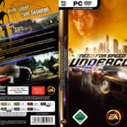 Need for Speed: Undercover (2008) GER PC DVD Cover & Label