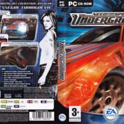 Need for Speed: Underground (2003) CZ PC DVD Cover & Labels