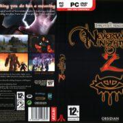 Neverwinter Nights 2 (2006) EU PC DVD Cover & Label