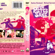 FOR PETE'S SAKE (1974) DVD COVER & LABEL