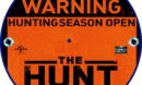 The Hunt (2020) R2 Custom DVD Label