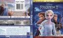 Frozen II (2020) 4K UHD Blu-Ray Cover & Labels
