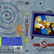 The Simpsons: Season 1 (1989) R1 DVD Cover & Labels