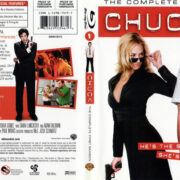 CHUCK SEASON ONE (2007) BLU-RAY COVER & LABELS