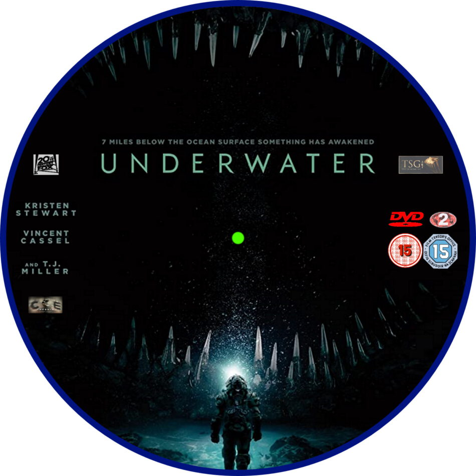 underwater  2020  r2 custom dvd label