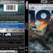 1917 (2019) R1 4K UHD Blu-Ray Cover