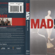 Mad Men: Season 5 (2011) Blu-Ray Cover & labels