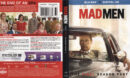 Mad Men: Final Season Part 2 (2015) Blu-Ray Cover & Label