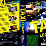 Taxi Collection German Blu-Ray Cover