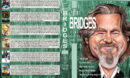 Jeff Bridges Filmography - Set 12 (2014-2017) R1 Custom DVD Cover