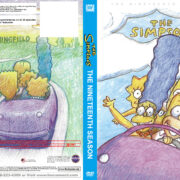 The Simpsons Season 19 R1 Custom DVD Cover