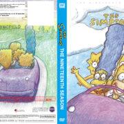 The Simpsons Season 19 R1 Custom DVD Cover