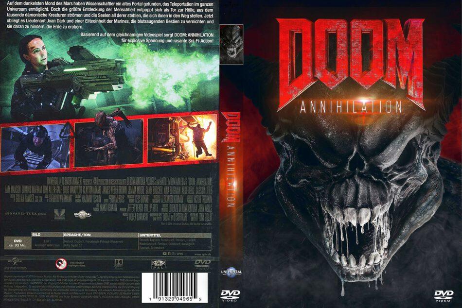 Doom Annihilation 2019 R2 German Dvd Covers Dvdcover Com