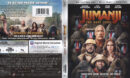 Jumanji: The Next Level (2020) 4K UHD Blu-Ray Cover & Labels