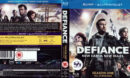 DEFIANCE (2013) SEASON ONE BLU-RAY COVER & LABELS
