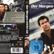 James Bond 007 - Der Morgen stirbt nie (Neuauflage) German Blu-Ray Covers & Label