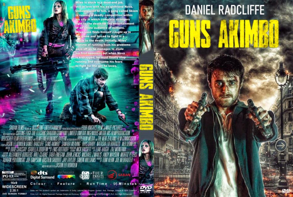 Guns Akimbo (2019) R1 Custom DVD Cover - DVDcover.Com