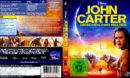 John Carter - Zwischen Zwei Welten (2012) German Blu-Ray Cover