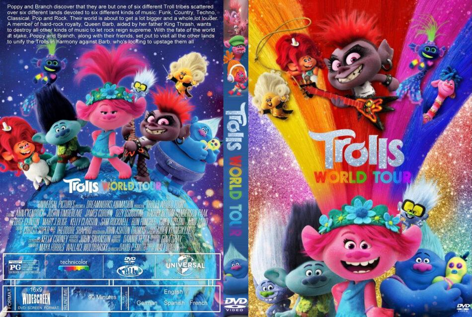 Trolls World Tour 2020 R1 Custom Dvd Cover Dvdcover Com