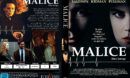 Malice (1993) R2 German DVD Cover