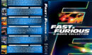 Fast & Furious 6-Movie Collection R1 Custom DVD Cover