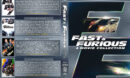 Fast & Furious 4-Movie Collection R1 Custom DVD Cover