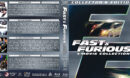 Fast & Furious 4-Movie Collection R1 Custom Blu-Ray Cover