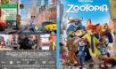 Zootopia (2016) R1 Custom SLIM DVD Cover and Label