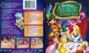 Alice In Wonderland - Special Un-Anniversary Edition (2004) R1 SLIM DVD Cover & Label