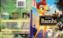 Bambi - Platinum Edition (1942) R1 SLIM DVD Cover & Label