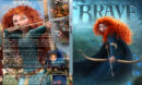 Brave (2012) R1 SLIM DVD Cover & Label