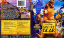 Brother Bear - Theatrical Widescreen Version (2004) R1 SLIM DVD Cover & Label