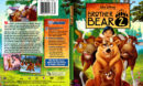Brother Bear 2 (2006) R1 SLIM DVD Cover & Label