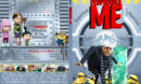 Despicable Me (2010) R1 SLIM DVD Cover and Label