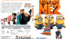 Despicable Me 2 (2013) R1 SLIM DVD Cover and Label