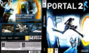 Portal 2 (2011) EU PC DVD Cover & Label