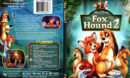 Fox and the Hound 2 (2006) R1 SLIM DVD Cover and Label
