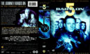 BABYLON 5 (1994) SEASON 2 DVD COVER AND LABELS