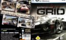 Race Driver: GRID (2008) GER PC DVD Cover & Labels