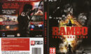 Rambo: The Video Game (2014) EU PC DVD Cover & Label