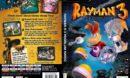 Rayman 3: Hoodlum Havoc (2003) EU PC DVD Cover & Label