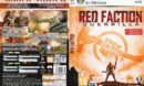 Red Faction: Guerrilla (2009) CZ/SK PC DVD Cover & Label